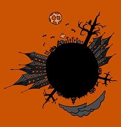 Halloween World vector image