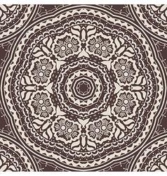 Vintage damask seamless pattern element vector image vector image