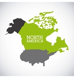 North america design vector