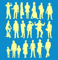 people 2 vector image