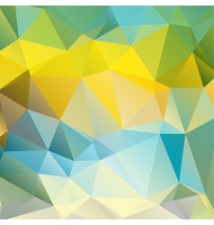 polygonal pattern vector image vector image