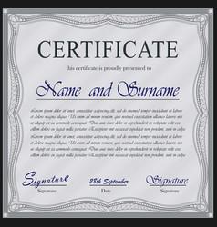 sertificate design vector image