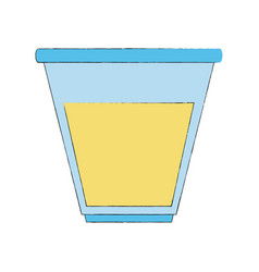 urine test container vector image