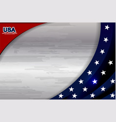 Usa background template vector
