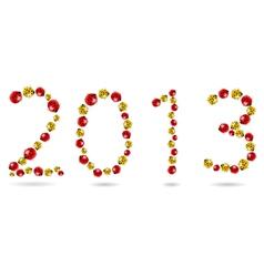 2013 ladybugs vector image vector image