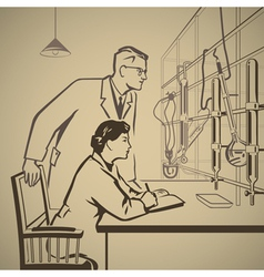 Chemistry3 vector image