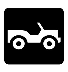 Car sign vector