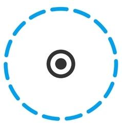 Circle area icon vector