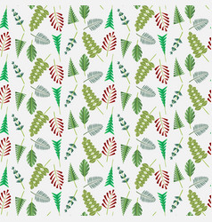 floral pattern flowers vector image vector image