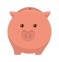 Piggy moneybox cartoon vector