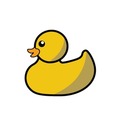 Rubber bath duck vector