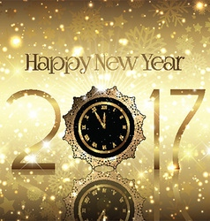 Golden new year background 0410 vector
