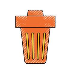 Trash can delete vector
