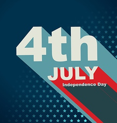 4th of july text vector