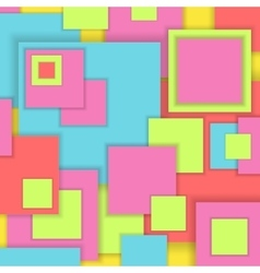 Background unusual modern material square design vector