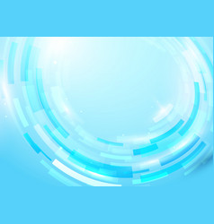 blue abstract rectangles shiny hi-tech motion vector image vector image