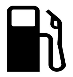 Gas station symbol vector