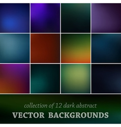 Set of cute background vector