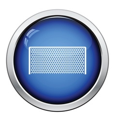 Icon of football gate vector