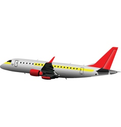 Airplane toy vector