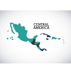 central america design vector image vector image