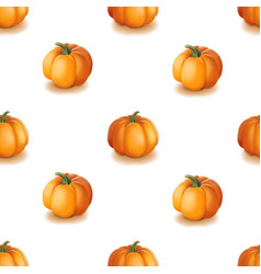 halloween seamless pattern background with vector image