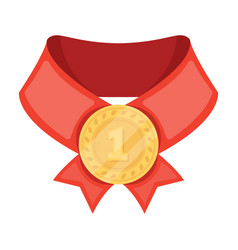 The gold awardmedal of medalistawards and vector