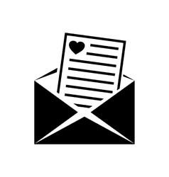 Wedding invitation simple icon vector