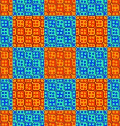 Background decorative lattice oriental style vector