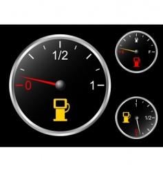 Car's fuel gage vector image vector image