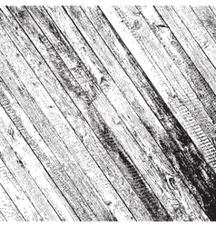 Distress Wooden Planks vector image vector image