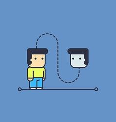 Self-talk vector