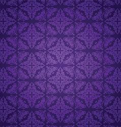 purple damask pattern 3008 vector image