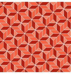 Retro geometric pattern vector