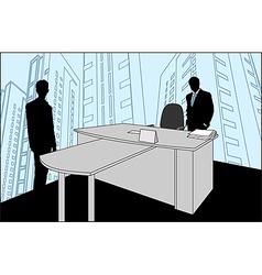 Businessmen Silhouette vector image