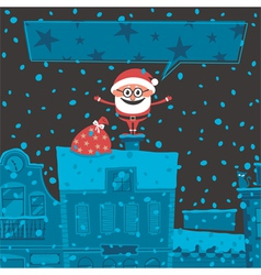Christmas Card 6 vector image