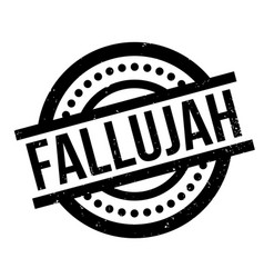 Fallujah rubber stamp vector