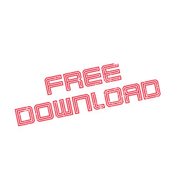 Free download rubber stamp vector