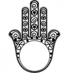 Khams design vector image