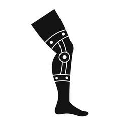 Retentive bandage icon simple style vector