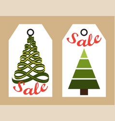 sale new year collection on vector image vector image