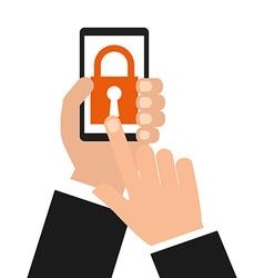 Smartphone security vector