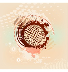 abstract blot vector image