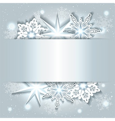 Sparkling Christmas Background vector image