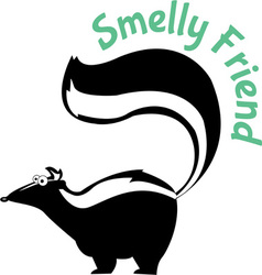 Smelly friend vector