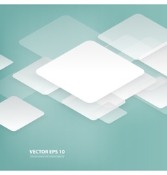 design with rhombus on the grey vector image