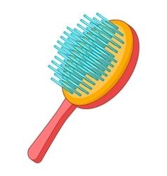 Pet brush icon cartoon style vector