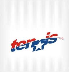 Tennis logo tennis image symbol vector