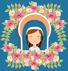 virgin design vector image vector image
