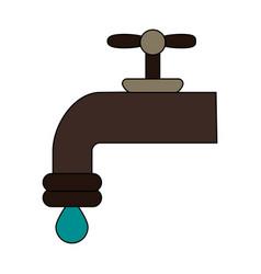 tap water vector image